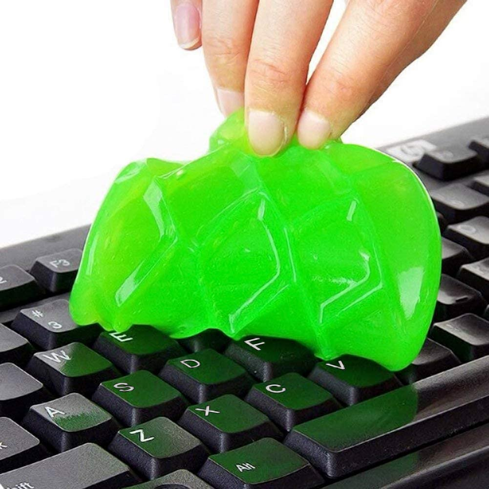 Keyboard Dust Cleaner Sticky Gel Cleaning Kit for PC Computer Laptop MacBook
